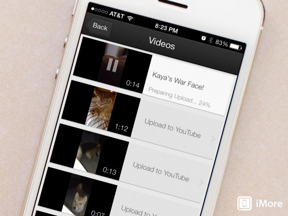 How to upload a video to your YouTube account with YouTube ...