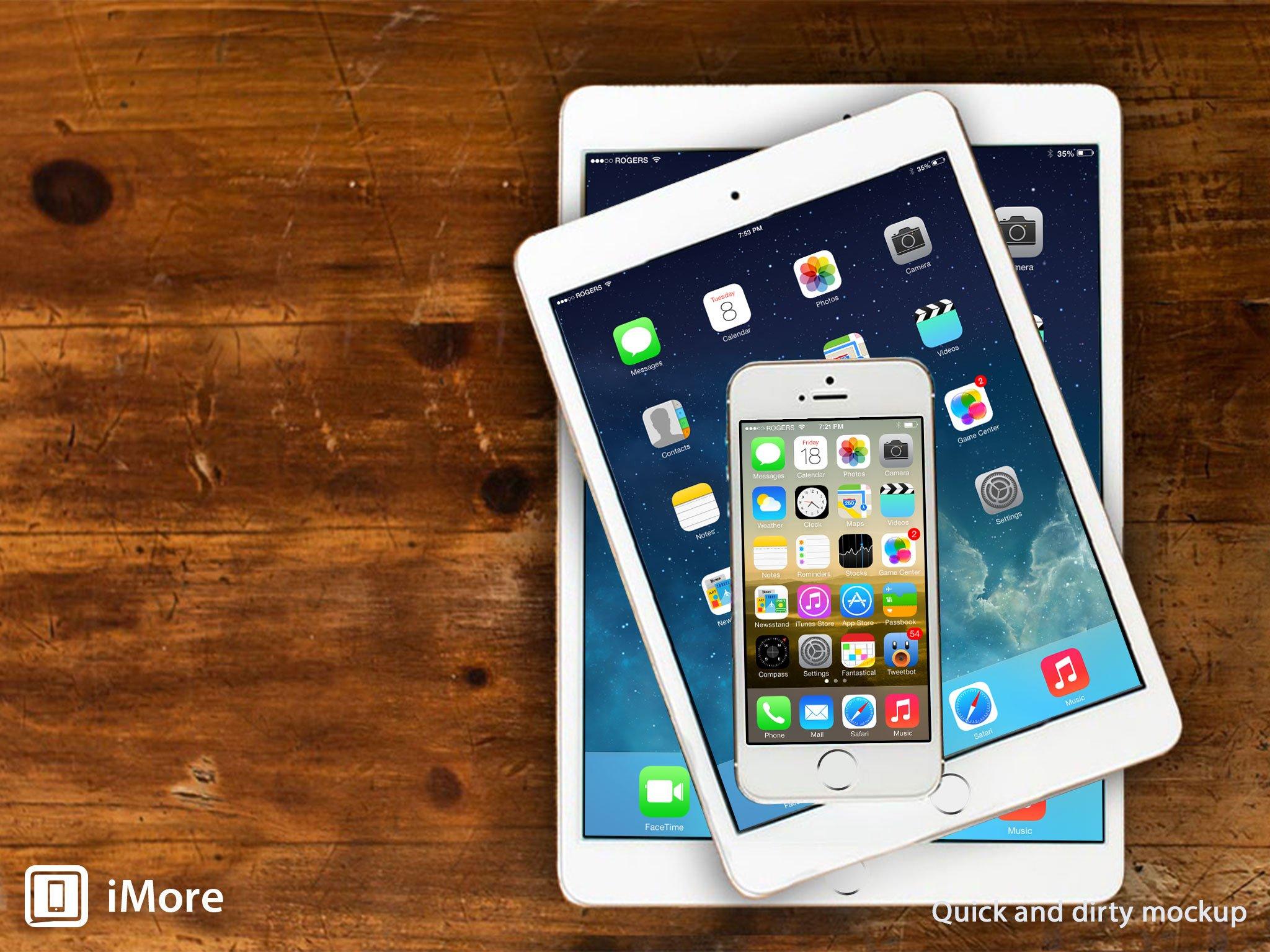 Imagining the iPad 5 and iPad mini 2
