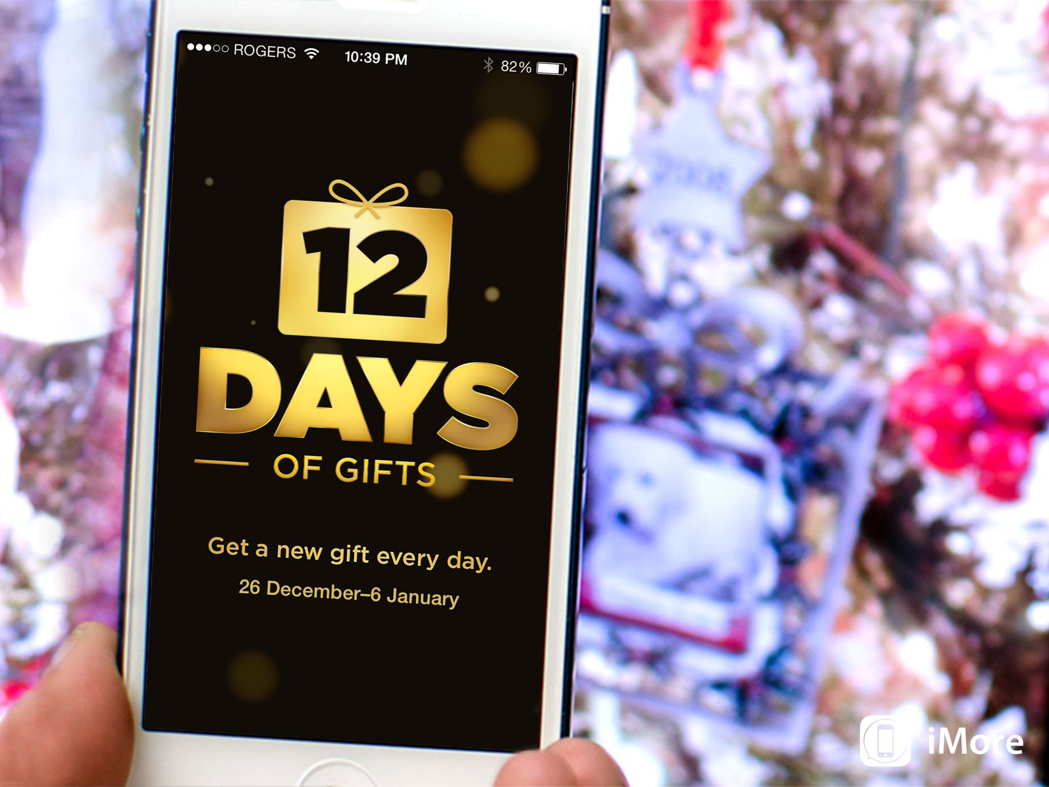 Apple releases 12 Days of Gifts app for iPhone and iPad, will give you free apps, iBooks, movie rentals, TV episodes from December 26 to January 6