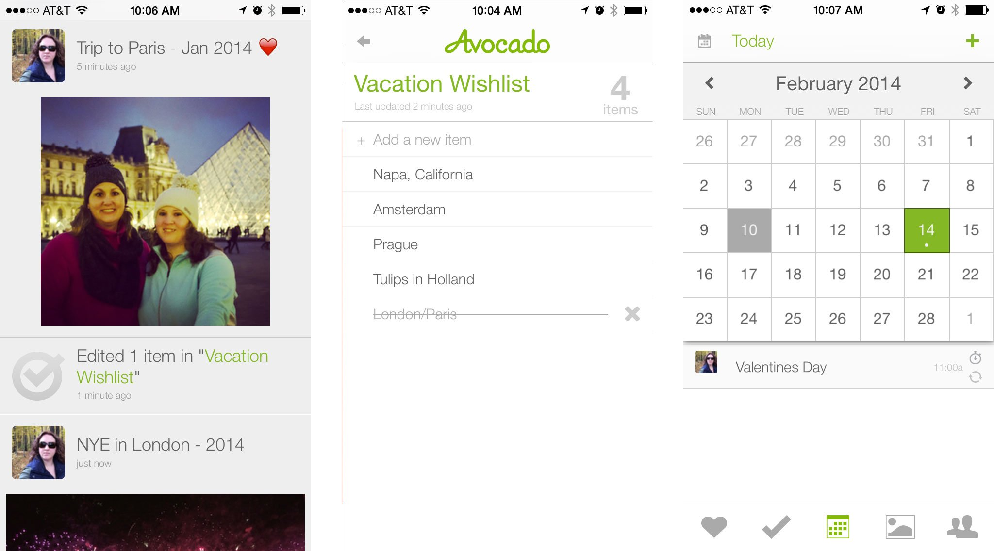Best Valentine's Day apps for couples: Avocado