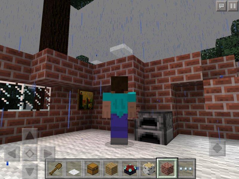 Minecraft: Pocket Edition on iPad