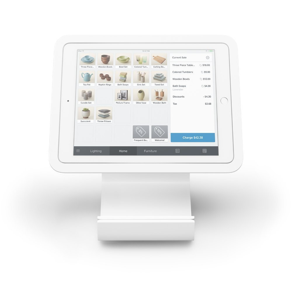 the 169 square stand for ipad is pretty much the quintessential pos stand for ipad it transforms an ipad into a full featured point of sale device that