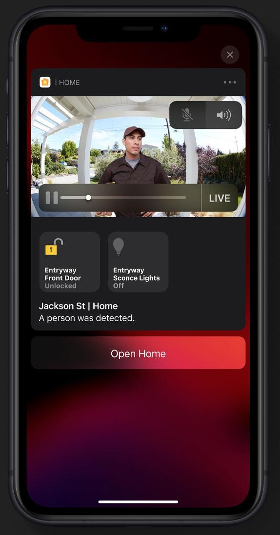 iOS 13 HomeKit Secure Video