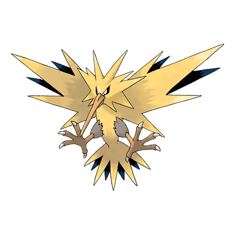 Pokemon 145 Zapdos