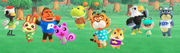 Various Animal Crossing New Horizons Switch villagers Characters