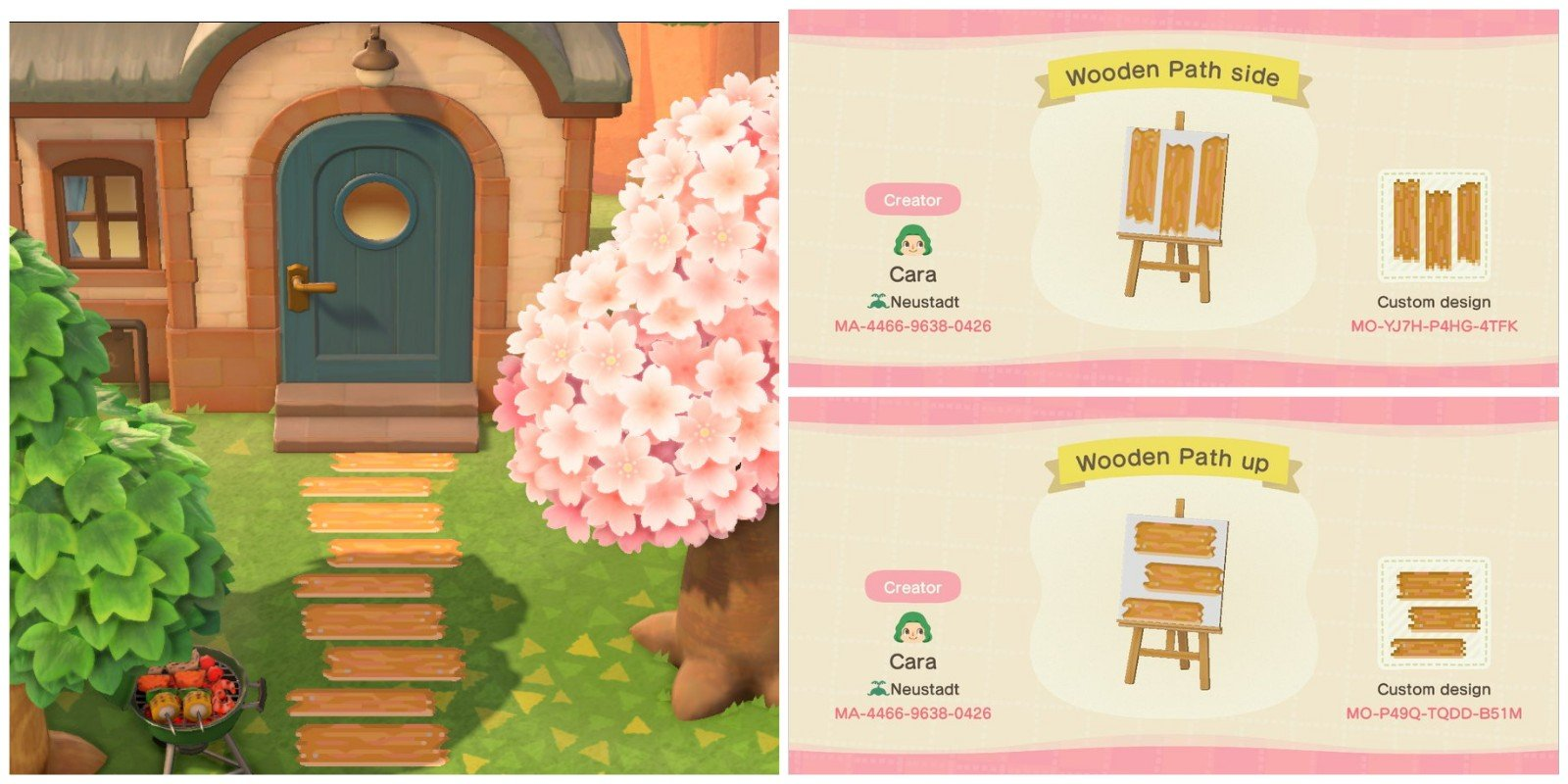 Animal Crossing: New Horizons — The best QR codes for ... on Animal Crossing New Horizons Wood Design  id=54968
