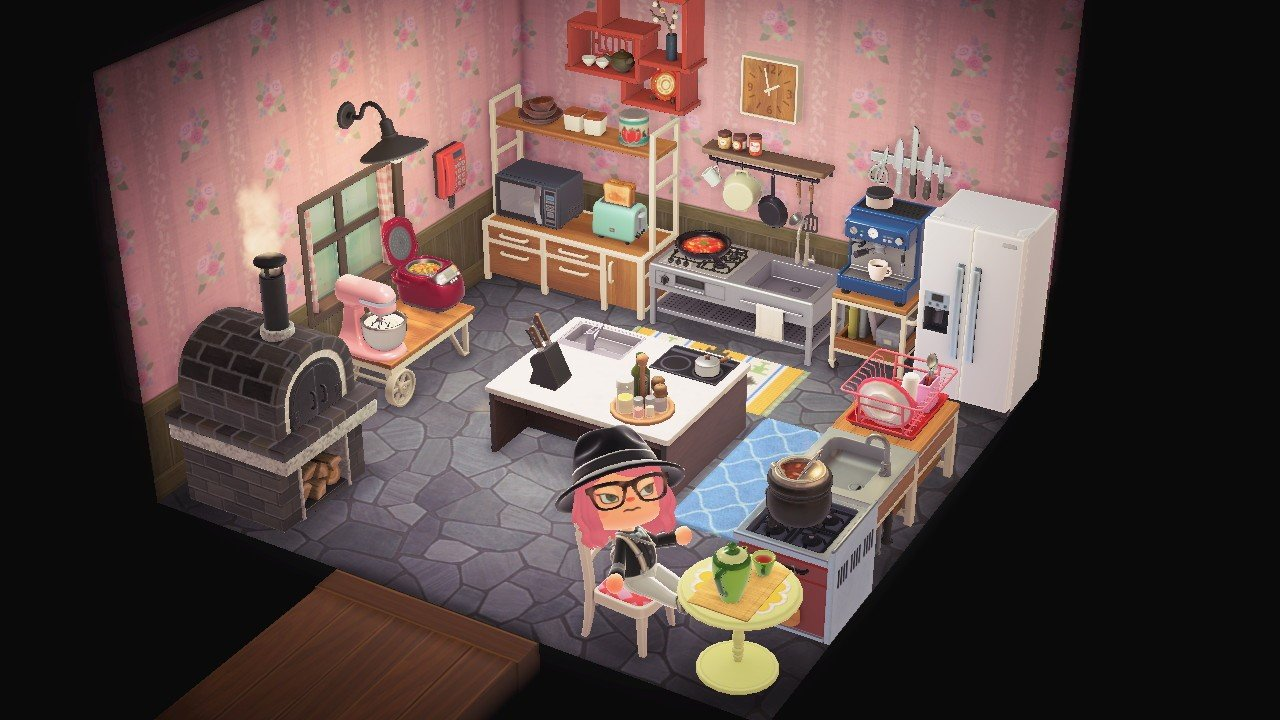 Animal Crossing: New Horizons — Tips for decorating your ... on Kitchen Items Animal Crossing  id=71209