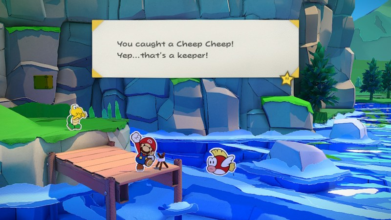 Paper Mario The Origami King - A not so Legendary Cheep Cheep