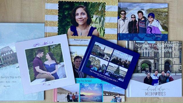 Best Photo Book Maker photo book assortment