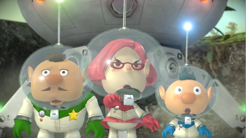Pikmin 3 Deluxe Charlie Brittany Alph