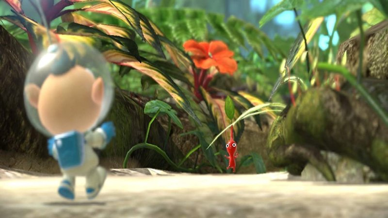 Pikmin 3 Deluxe Encounter With Pikmin
