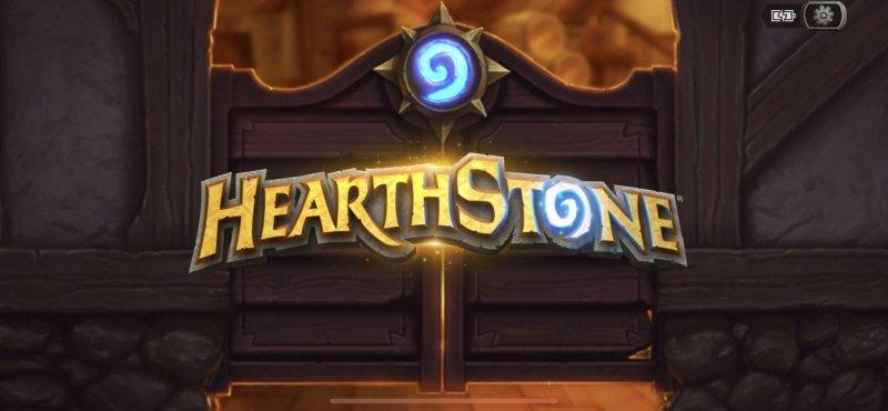 Hearthstone Title Screen