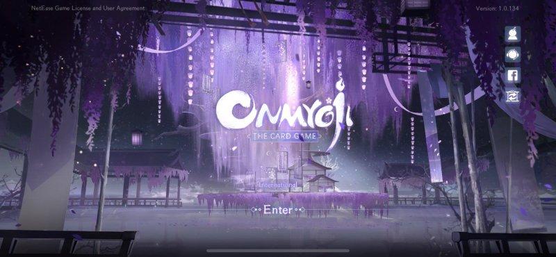 Onmyoji Title Screen