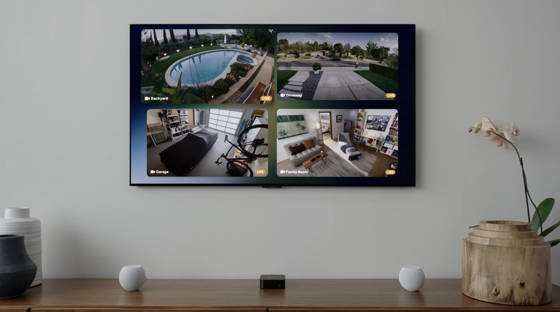 Tvos15 Homekit Multiple Camera View