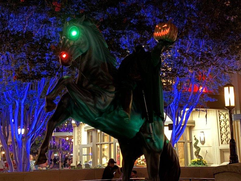 Disney California Adventure Headless Horseman