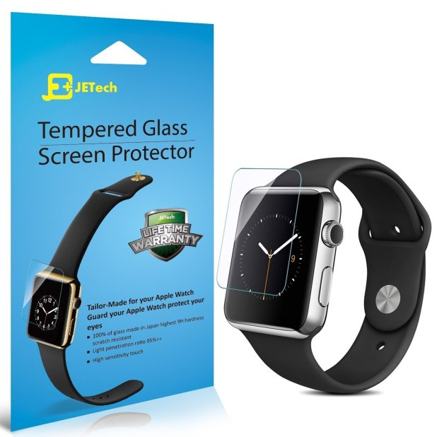 JETech Tempered Glass Screen Protectors for the Apple Watch