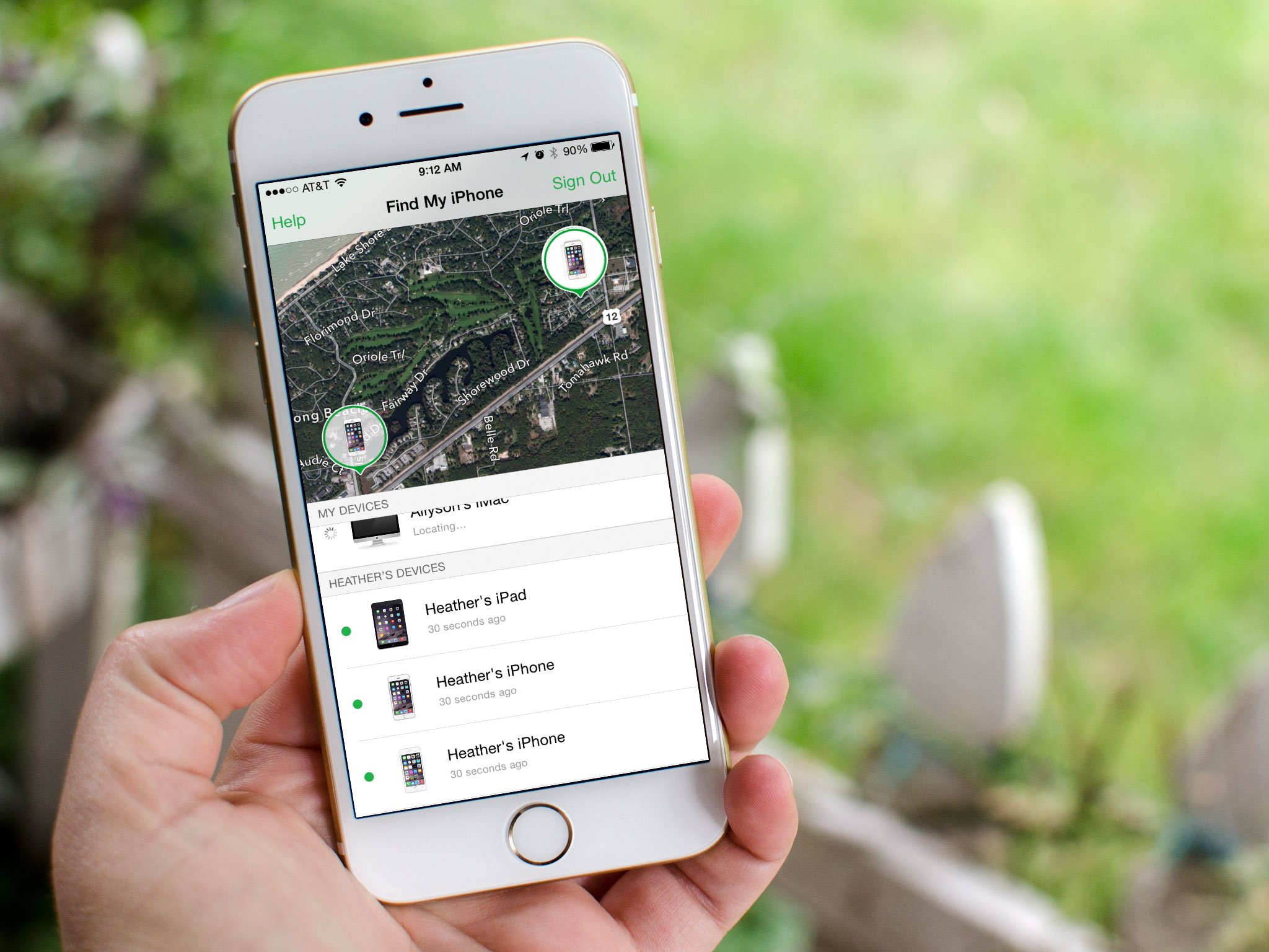 How to use Family Sharing with Find my iPhone | iMore