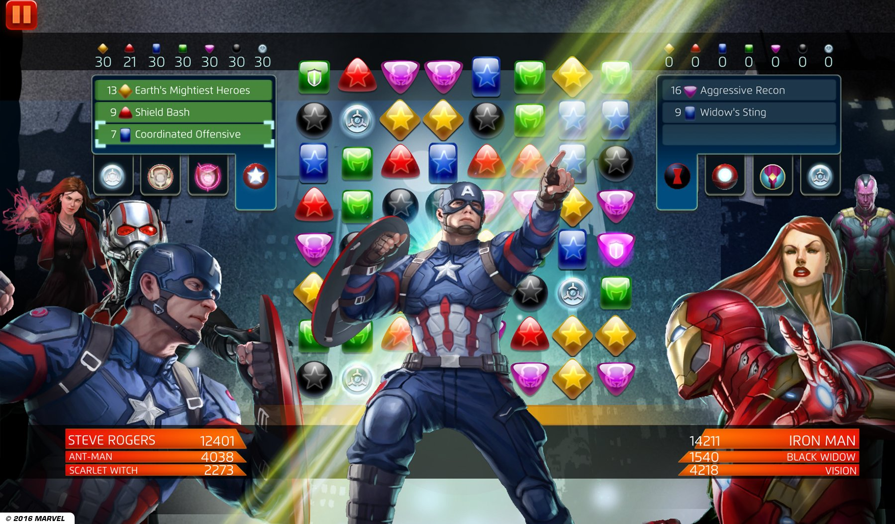 Image result for marvel puzzle quest