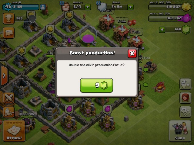 Clash of Clans - Patient is the key to save your gems