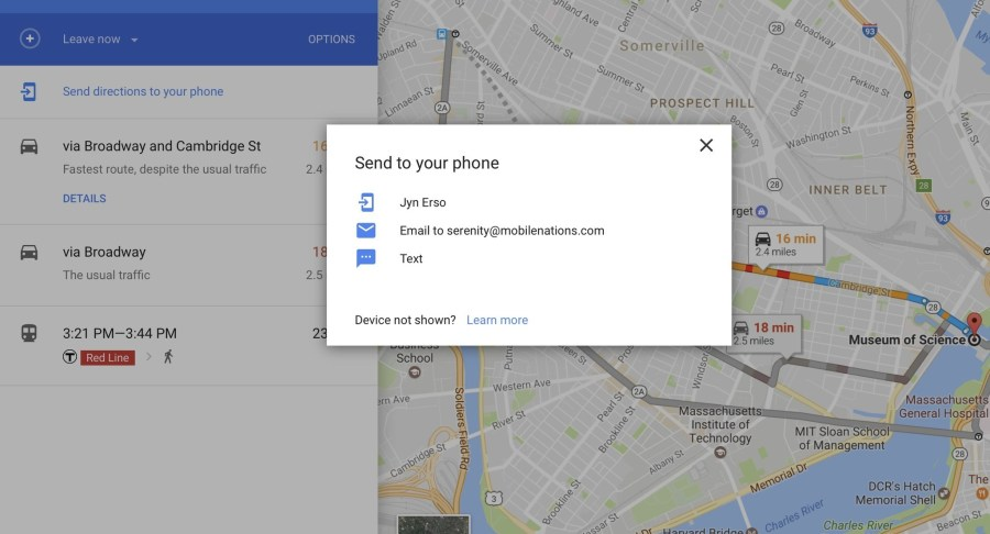 How to use Siri with Google Maps   iMore Search for directions