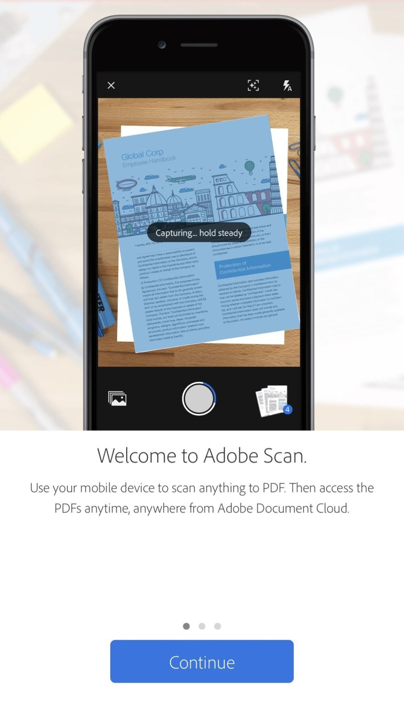 Adobe Scan for iOS
