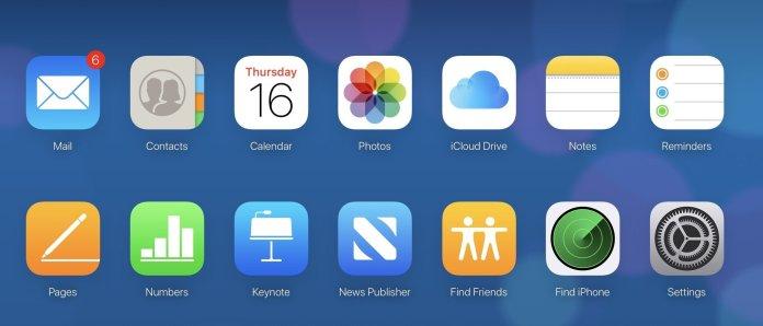 iCloud online