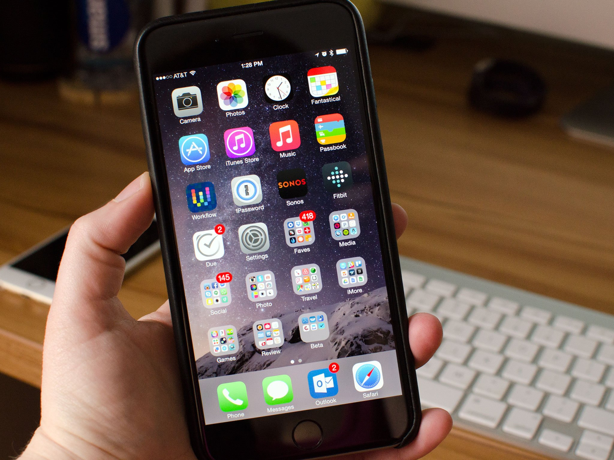 How to use your iPhone 6 Plus one-handed   iMore