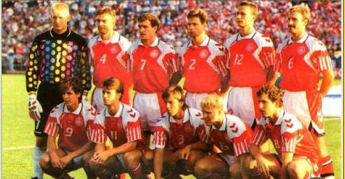 Seleções Imortais – Dinamarca 1992-1995