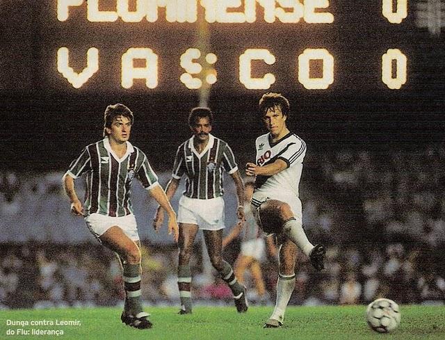 1987.Vasco-x-Fluminense.Dunga-Leomir-e-Assis