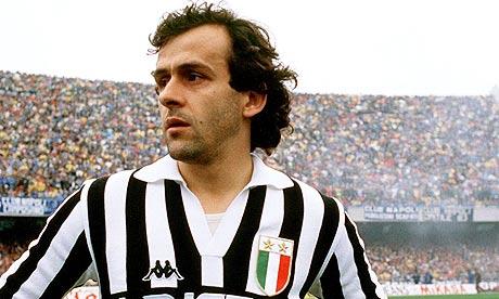 Michel Platini in 1987
