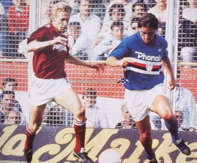 1988, Sampdoria 2 - Torino 0, Finale Coppa Italia, Benedetti e Mancini