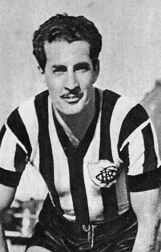 Carvalho Leite: um dos maiores artilheiros e ídolos da história do Botafogo.