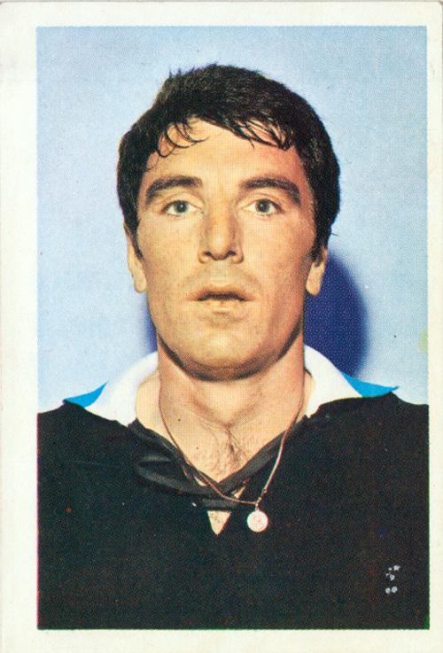 Cara de susto para a foto dos convocados da Copa do Mundo de 1970, no México.