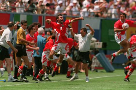 Empics8, Germany v Bulgaria .... Soccer World Cup 94