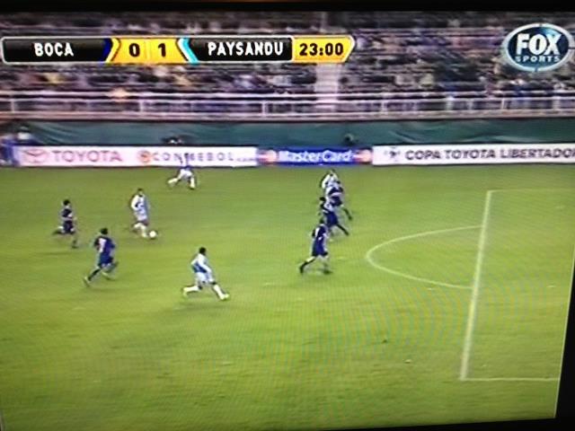 Não é truque nem montagem: o placar mostra mesmo Boca 0x1 Paysandu!