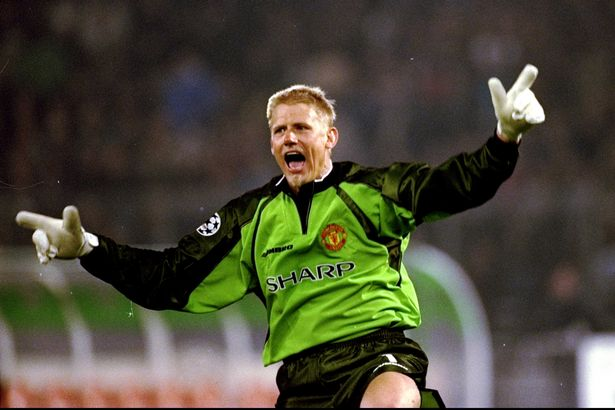 Manchester United keeper Peter Schmeichel-1174446
