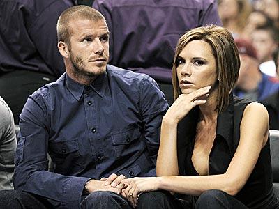 Beckham e a esposa Victoria: um dos casais mais famosos do planeta.