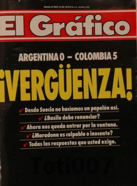 ... E o contraste com a imprensa argentina.