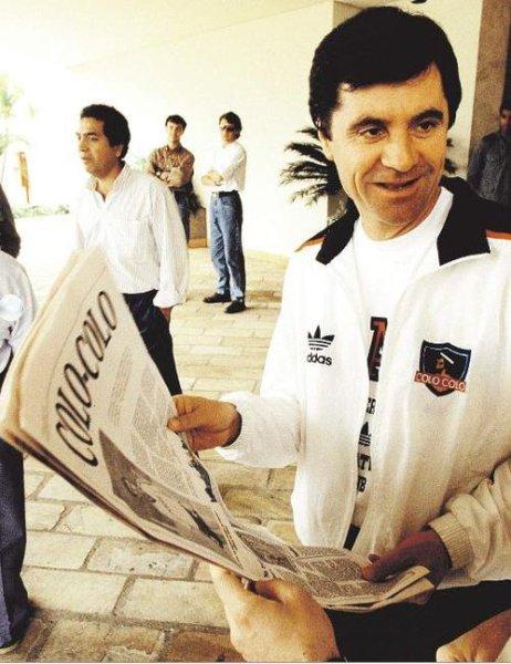 Mirko Jozic: croata seria um dos maiores expoentes do Colo-Colo no começo dos anos 90.