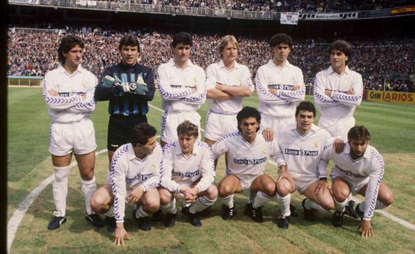 Esquadrão Imortal – Real Madrid 1983-1990