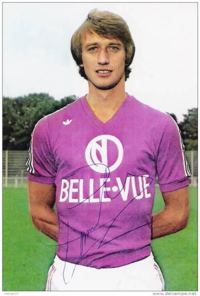 Rob Rensenbrink: chegada do astro holandês foi fundamental para a virada do Anderlecht no futebol europeu.