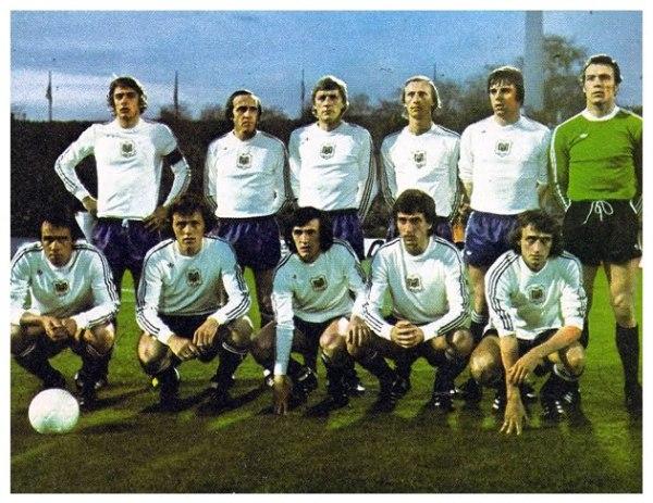 ANDERLECHT. Vainqueur de la finale de la Coupe des Coupes 1976 devant West Ham