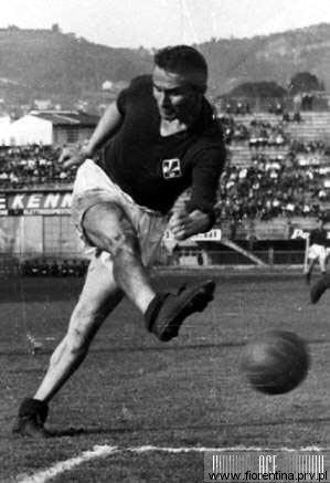 O sueco Hamrin: goleador e maior artilheiro da Fiorentina nos anos 60.