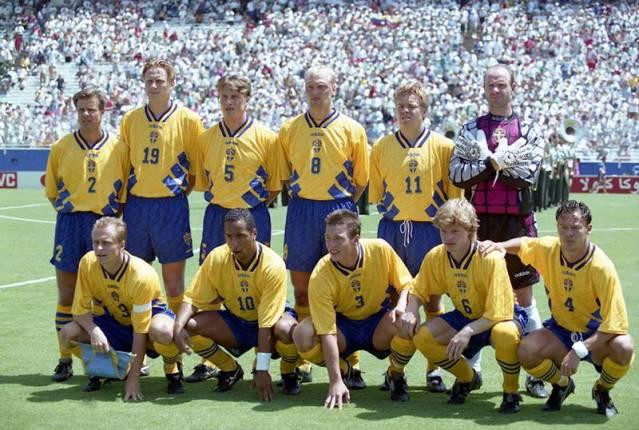 Seleções Imortais – Suécia 1994