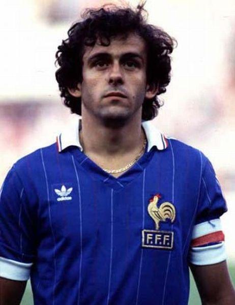 Michel Platini: expoente máximo da magnífica seleção francesa dos anos 80.