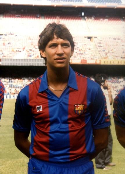 Spanish Soccer - Primera Division - Barcelona