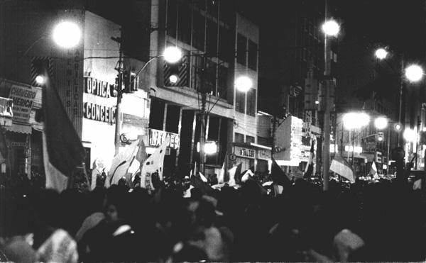 Festa da torcida em Campinas.