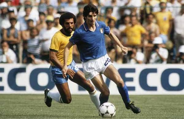 Rossi e a bola: perigo constante para o Brasil.