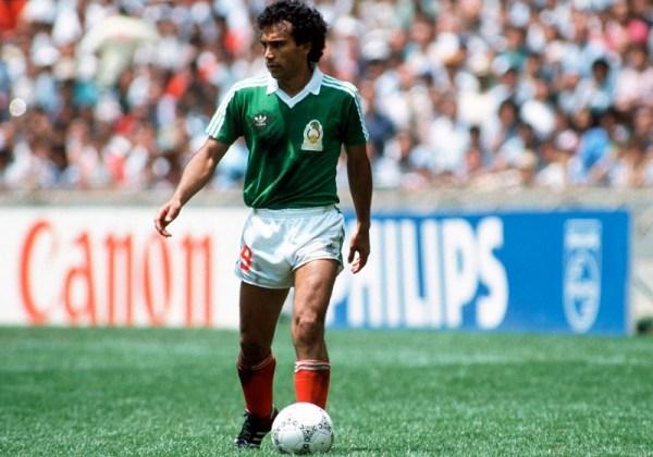 Em 1986, Sánchez marcou gol na Copa, mas o seu México não passou das quartas.