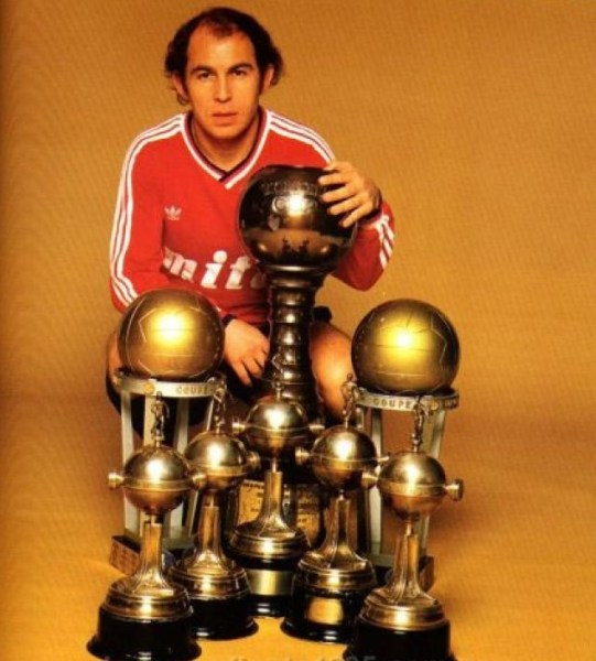 Bochini: maior ídolo da história do Independiente.